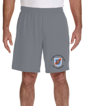 20th Special Forces Group  Embroidered Gym Shorts
