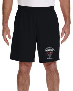 75th Ranger Regiment  Embroidered Gym Shorts