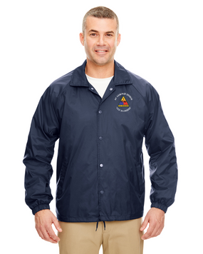 1st Armored Division Embroidered Windbreaker