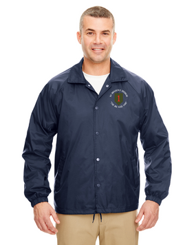 1st Infantry Division Embroidered Windbreaker