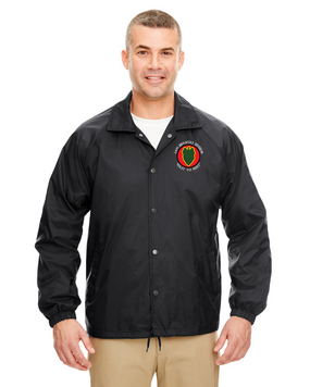 24th Infantry Division Embroidered Windbreaker