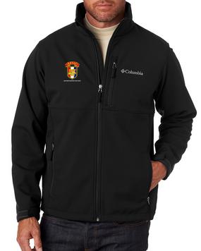 SETAF Embroidered Columbia Ascender Soft Shell Jacket