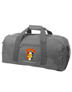 SETAF Embroidered Duffel Bag