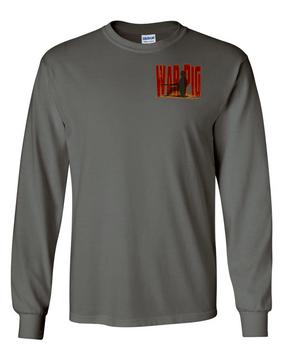 The Pig Long-Sleeve Cotton T-Shirt