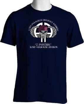 "2-505th  ""2 Panther""  Cotton Shirt"