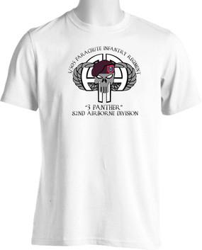 "3/505th  ""3 Panther"" Short-Sleeve Moisture Wick Shirt"