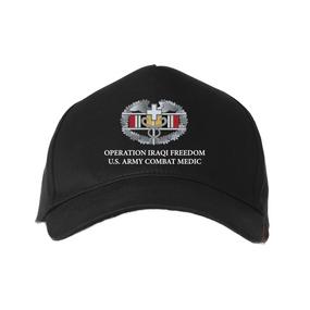 Operation Iraqi Freedom-CMB- Embroidered Baseball Cap