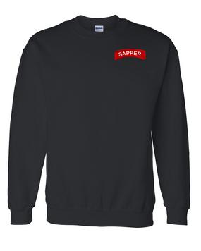 Sapper Embroidered Sweatshirt