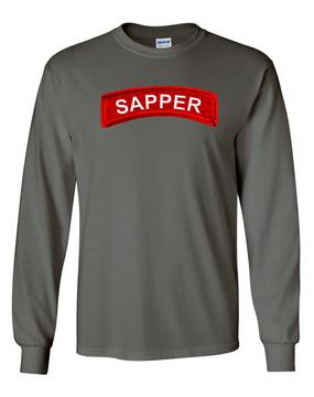 Sapper Long-Sleeve Cotton T-Shirt -FF