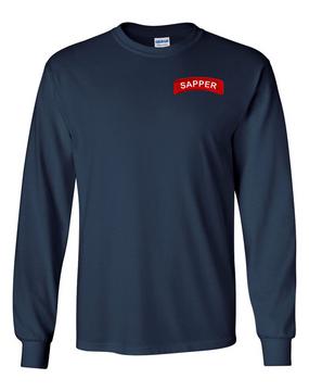Sapper Long-Sleeve Cotton T-Shirt