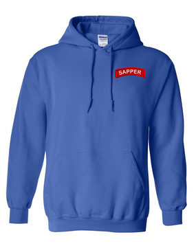 Sapper Embroidered Hooded Sweatshirt
