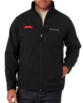 Sapper Embroidered Columbia Ascender Soft Shell Jacket