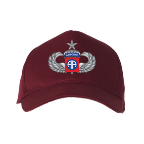 "82nd Airborne Division  ""Senior"" Embroidered Baseball Cap"
