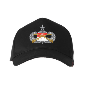"1st Squadron 17th Cavalry Regiment ""Senior"" Embroidered Baseball Cap"