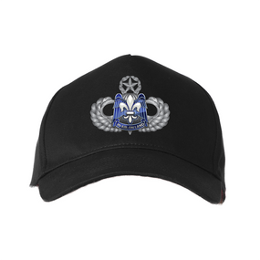 """82nd Hqtrs & Hqtrs   """"Master"""" Embroidered Baseball Cap"""