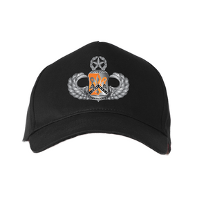"82nd Signal  ""Master"" Embroidered Baseball Cap"