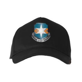 "313th MI (Airborne) ""Crest""  Embroidered Baseball Cap"