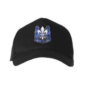 """82nd Hqtrs & Hqtrs """"Crest""""   Embroidered Baseball Cap"""