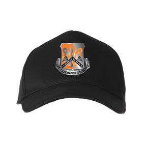 "82nd Signal ""Crest""  Embroidered Baseball Cap"