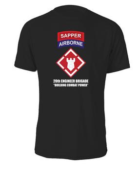 "20th Engineer (Airborne) ""Sapper"" Cotton Shirt (FF)"
