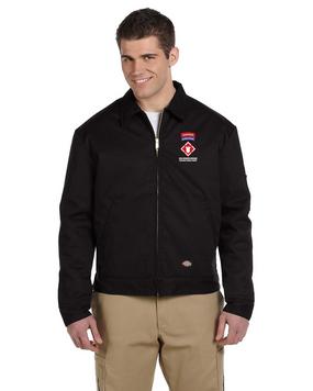 """20th Engineers (Airborne) """"Sapper"""" Dickies 8 oz. Lined Eisenhower Jacket"""