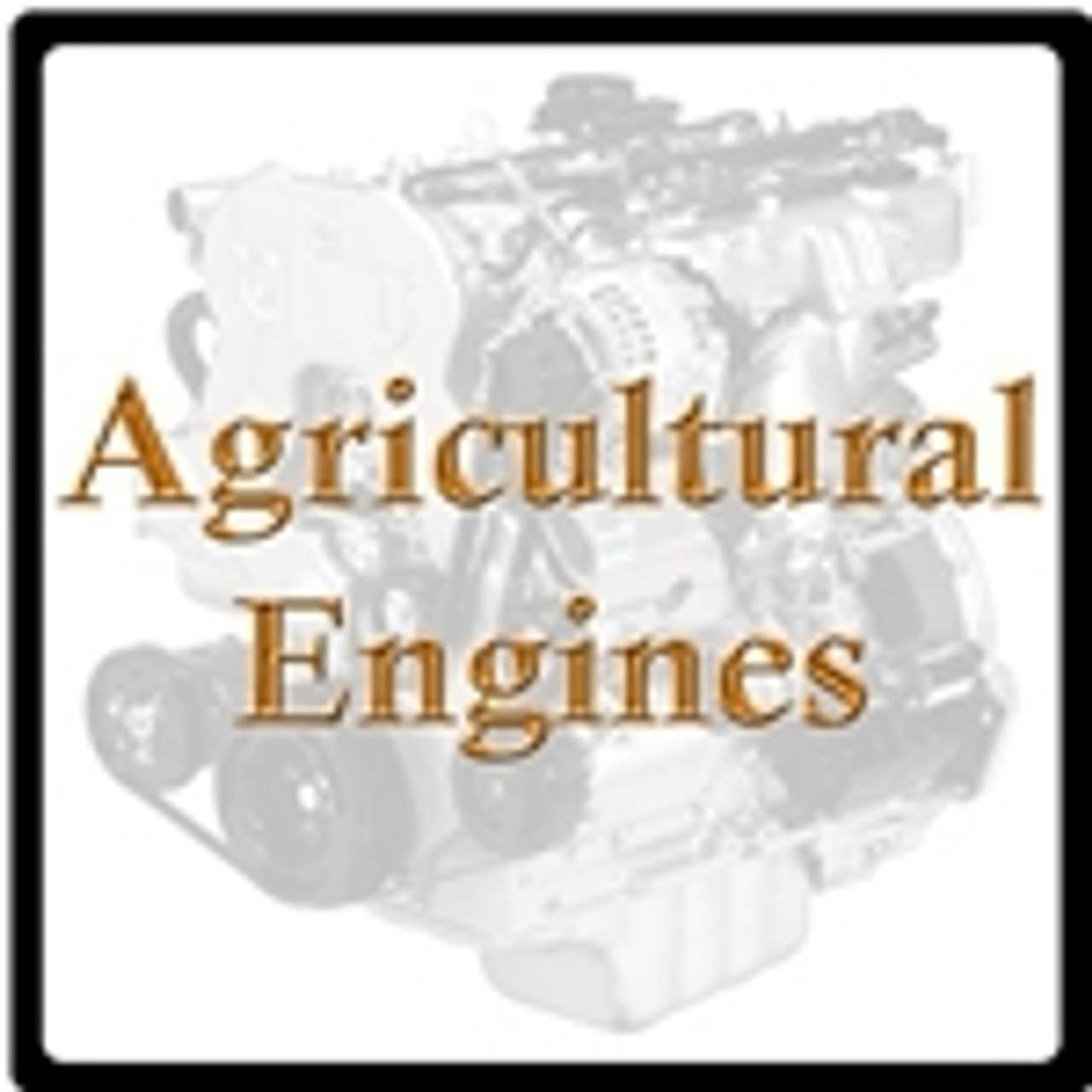 Agricultural Engines