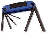 CruzTools Metric Folding Hex Key Set