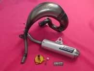 KTM SX65 09 - 15 HGS Exhaust System With VHM Power Valve Adjuster