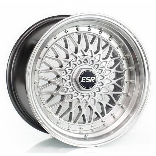 ESR SR03 Wheels in machined silver