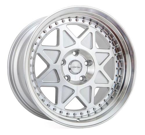 varrstoen mk5 wheel in gloss silver