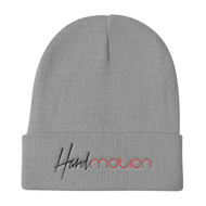 HARDmotion Embroidered Knit Beanie