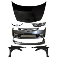 06-11 Honda Civic JDM Front End Conversion Sedan