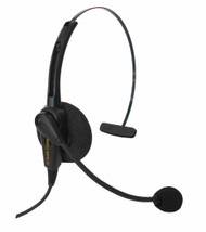 Classic Monaural Headset with choice of 1 FREE quick disconnect cord