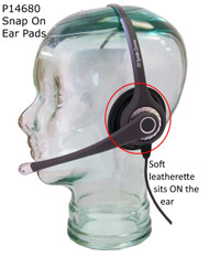 Snap-On noise reduction ear pads for Ultra, Ultra Pro and Clearwire headsets