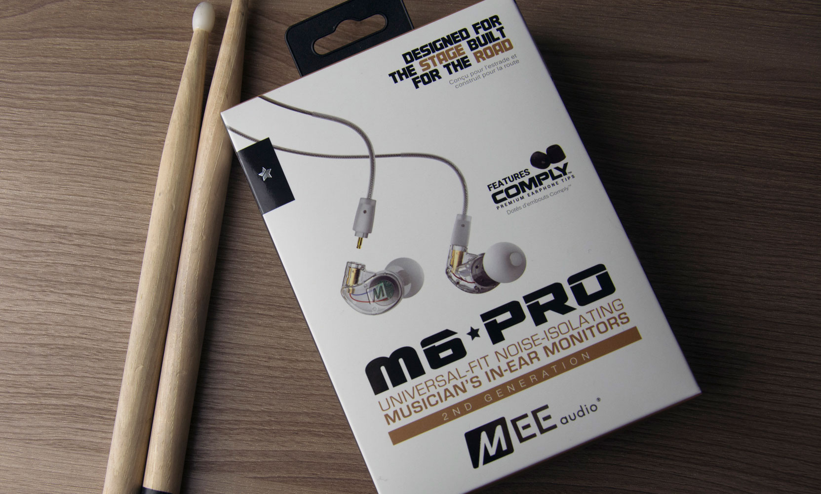 Mee Audio M6 Pro 2nd Generation Universal Noise Isolating Musicians European Electrical Plug Wiring Schematic Also Headphone Color Stereo Headset Cable Carrying Case Comply Memory Foam Eartips Silicone 6 Pairs Shirt Clips 2 63mm Adapter User Manual