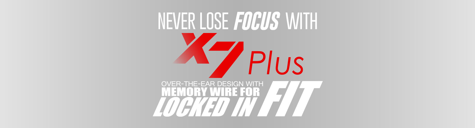 X7 Plus Stereo Bluetooth Wireless Sports In