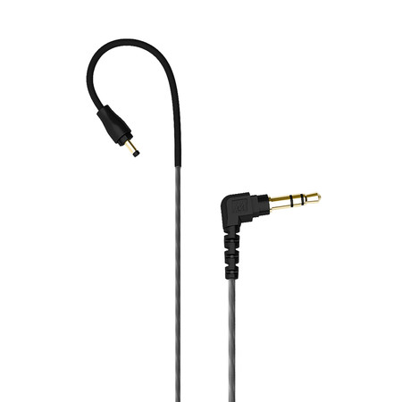 M6 PRO Stereo-to-Mono Audio Cable for Single-Ear Monitoring (Black)