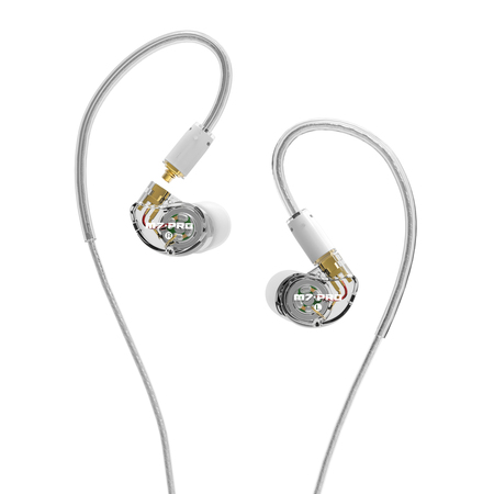 M7 PRO Universal-Fit Hybrid Dual-Driver Musician's In-Ear Monitors with Detachable Cables