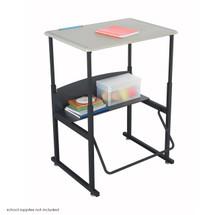 Safco AlphaBetter® Desk, 28 x 20 Standard Top, w/o Book Box