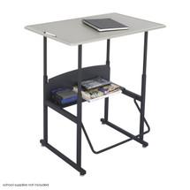 Safco AlphaBetter® Desk, 36 x 24 Standard Top, w/o Book Box