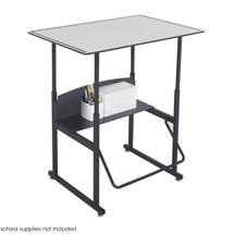 Safco AlphaBetter® Desk, 36 x 24 Premium Top, w/o Book Box