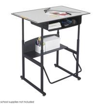 Safco AlphaBetter® Desk, 36 x 24 Premium Top, with Book Box