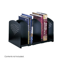 Safco Five Section Adjustable Bookrack