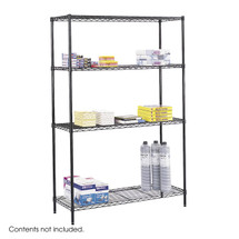 Safco Commercial Wire Shelving, 48 x 18""