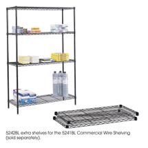 Safco Commercial Extra Shelf Pack, 48 x 18""