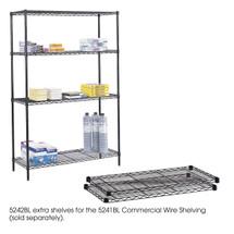 "Safco Commercial Extra Shelf Pack, 48 x 18"""