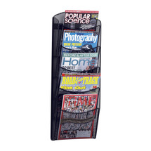Safco 5-Pocket Onyx™  Magazine Rack