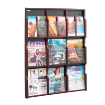 Safco Expose™ 9 Magazine 18 Pamphlet Display