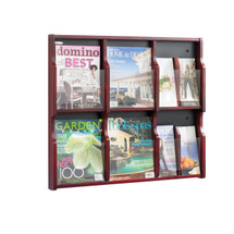 Safco Expose™ 6 Magazine 12 Pamphlet Display