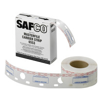 "Safco 2-1/2""W Polyester Carrier Strips for MasterFile 2"